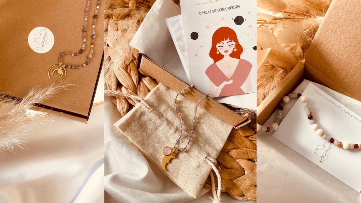 Ręcznie robiona biżuteria Silk Art: subtelność i czar kamieni